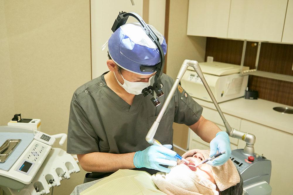 歯科医の技術